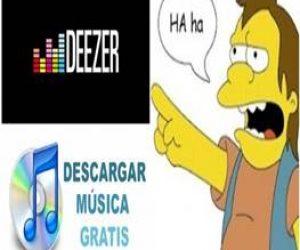 ¿Cómo descargar música de Deezer gratis?