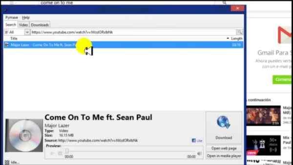 descargar canciones en linux