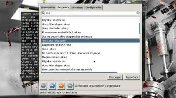 programa para descargar música en linux
