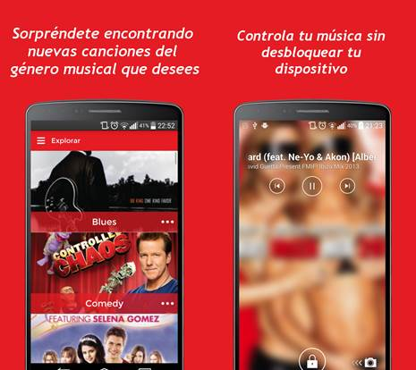 caracteristicas de la app musicall