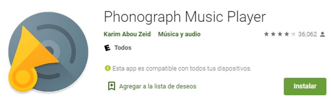 descargar phonograph
