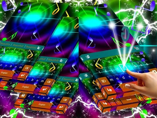 teclados para celular con sonidos